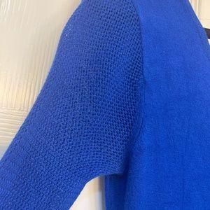 Express Blue Longsleeve Dress